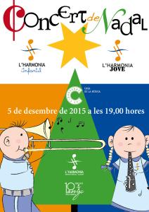 Cartel Concert Nadal 2015